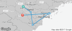 Halong Bay and Red River (from Hoa Binh to Halong Bay) (April to November) - 6 destinations
