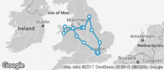 England and Wales Experience - 14 destinations