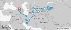 Bishkek To Tbilisi (8 Weeks) Kyrgyzstant To Caucasus - 29 destinations