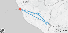 Peru Explorer (End Lima, 9 Days) - 17 destinations