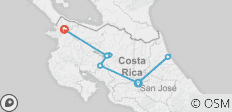 Costa Rica Adventure (12 Days) - 8 destinations