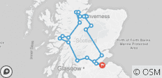 4-Day Outlander Trail Small-Group Tour from Edinburgh - 21 destinations