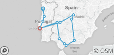 Lusitania & Andalusia (from Porto to Lisbon) - 13 destinations