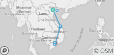 Vietnam - North to South 10 days (incl. 1 free data sim card + entry to the Artinus 3D Art museum) - 14 destinations