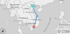 Vietnam - North to South 10 days (incl. 1 free Data Simcard) - 10 destinations