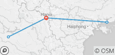 Hanoi - Glory Legend Cruises - Bakhan Village 6 Days - 5 destinations
