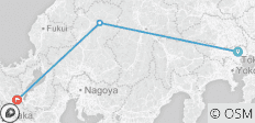 Japan on a Shoestring – Tokyo to Kyoto - 3 destinations