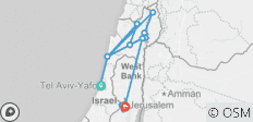 Israel: A Journey of Faith  (Tel Aviv to Jerusalem) (Standard) - 15 destinations