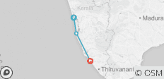 Cycle the Coast of Kerala - 3 destinations