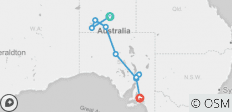 Alice Springs to Adelaide Overland - 10 destinations