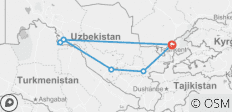 Uzbekistan Highlights - 7 destinations