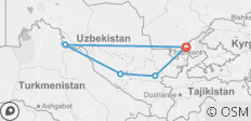 Best of Uzbekistan Tour - 5 destinations