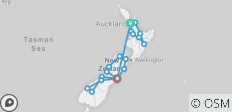 New Zealand Discovery Tour - 20 destinations
