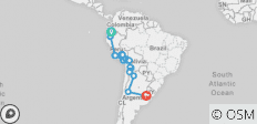 Explore South America - 39 destinations