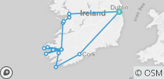 Wild South - All Inclusive - Small Group Tour of Ireland - 16 destinations