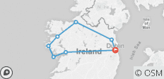 The Wild West - All Inclusive - Small Group Tour of Ireland - 8 destinations