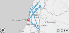 The best of Israel in 4 days - 12 destinations