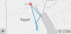 Mysterious Egypt & Hurghada - 8 destinations