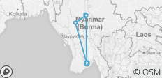 Meet Me in Myanmar - 8 days - 10 destinations