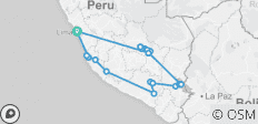 Peru Explored - 20 destinations