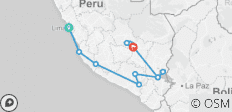 Coastal Peru - 13 destinations