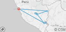 Peru in Two Weeks - 12 destinations