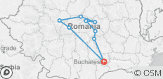 Secrets of Romania - 9 destinations