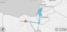 Israel and Egypt 10 days - 12 destinations