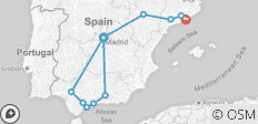 Classical Spain (from Madrid to Barcelona) - 11 destinations