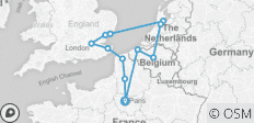 European Triangle - 12 destinations