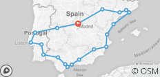 Great Iberian Route - 20 destinations