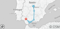 Madrid and Andalucia - 7 destinations
