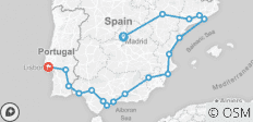 Spanish Ring with Lisbon - 18 destinations
