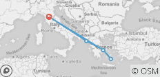 Florence To Greece Island Hopping - 6 destinations