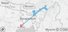 Assam Explorer - 17 destinations