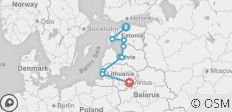 Cycle the Baltics - 10 destinations