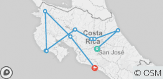 Costa Rica Coast to Coast - 10 destinations