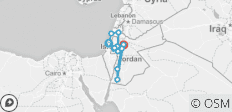 Jordan, Israel & the Palestinian Territories Real Food Adventure - 13 destinations