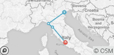 Northern Italy Family Holiday - 4 destinations