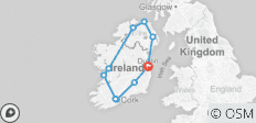 Irland Rundreise - 10 Destinationen