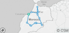 Morocco Natural Landscapes Diversity - 17 destinations