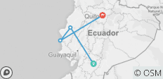 Ecuador Beaches & Coastal Adventure - 4 destinations