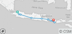 Indonesia Adventure: Java & Bali - 9 destinations