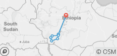 Ethiopia Untouched - 9 destinations