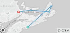 Puffin (from Halifax to Moncton) - 5 destinations