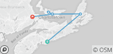 Puffin Inclusive (from Halifax to Moncton) - 6 destinations