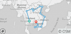Southeast Asia Circuit, 31 days - 12 destinations