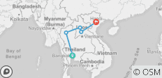 Thailand to Laos in Two Weeks - 5 destinations