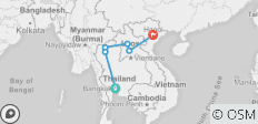 Thailand to Laos in Two Weeks - 6 destinations