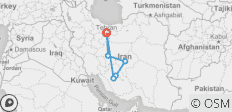 Iran Express - 6 destinations